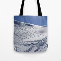 Tracks On Tincan Tote Bag