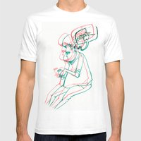 Empty Mens Fitted Tee White SMALL