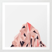Mount Pios Right Art Print