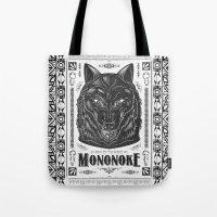 Mononoke Hime Wolf Pride… Tote Bag