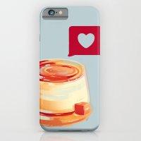 Caramel Heart Flan iPhone 6 Slim Case
