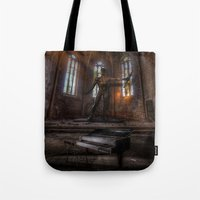 Old Party Tune Tote Bag