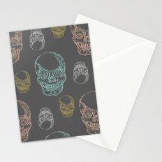 Flirty Skulls Stationery Cards