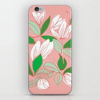 Floating Tulips iPhone & iPod Skin