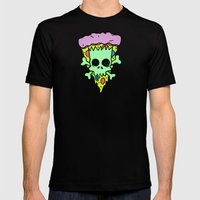 Bootleg Bart Mens Fitted Tee Black SMALL