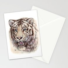 White Tiger 909 Stationery Cards
