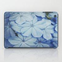 Blue Plumbago iPad Case