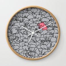 Word 2 the Herd v1 Wall Clock