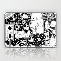 Clutch (Black & White version) Laptop & iPad Skin
