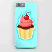 Pixel Cupcake iPhone 6 Slim Case