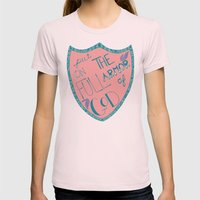 His Armor Womens Fitted Tee Light Pink SMALL