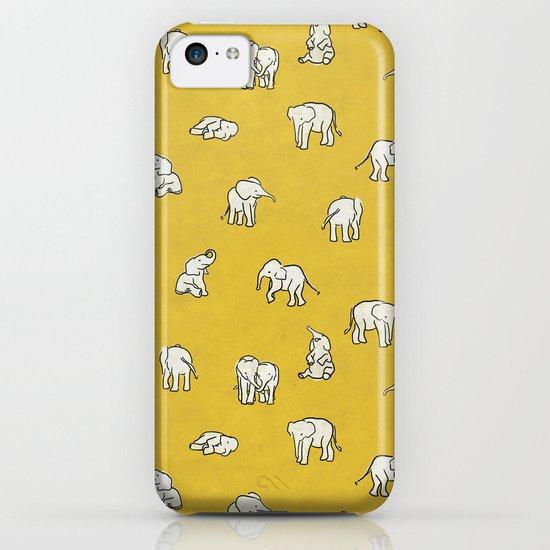 indian baby elephants iPhone & iPod Case