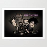 The Smiths (black Versio… Art Print