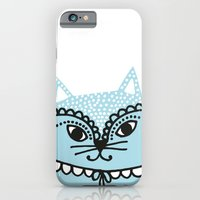iPhone & iPod Case featuring Katze #1 by Petra Wolff