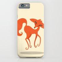 iPhone & iPod Case featuring Foxpirit by Volkan Dalyan