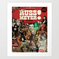 70's exploitation poster Art Print