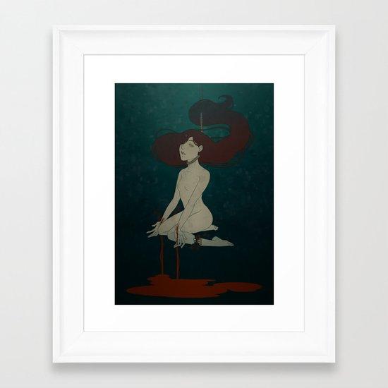 Entropy Framed Art Print