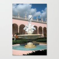 Canvas Print featuring Sarasota Ringling by Clearance21 7
