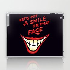 Let's Put A Smile On That Face Laptop & iPad Skin