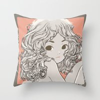 Engelchen Throw Pillow