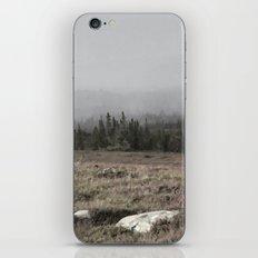 Fog roll over the hills iPhone & iPod Skin