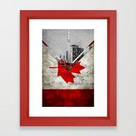 Flags - Canada Framed Art Print