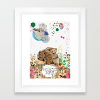 I Would Be Framed Art Print