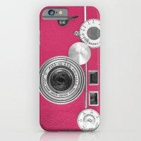 Pink Fashion Camera iPhone 6 Slim Case