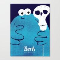 Berk - The Trap Door  Canvas Print
