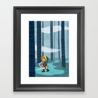 The Lost Woods Framed Art Print
