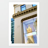 New York Reflection Art Print