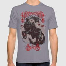 The Direwolf Mens Fitted Tee Slate SMALL