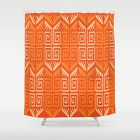 LONGO 1 Shower Curtain