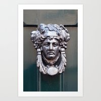 Door knocker Art Print