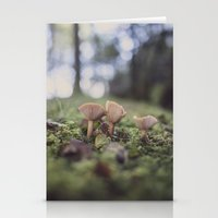THE MUSHROOMS Stationery Cards