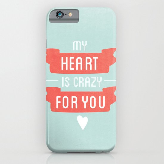 Crazy For You iPhone & iPod Case
