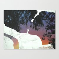 And this is when We knew Canvas Print