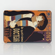 Le Fourth Doctor iPad Case