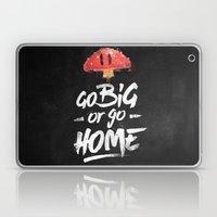 Go Big Or Go Home Mario … Laptop & iPad Skin