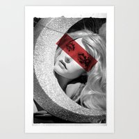 Red band Art Print
