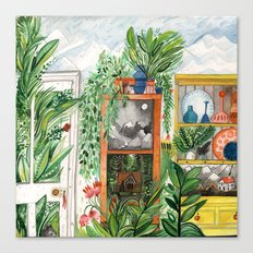 The Jungle Room Canvas Print