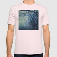 Silent Night  Mens Fitted Tee Light Pink SMALL