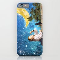 iPhone Cases featuring One Wish Upon the Moon by Diogo Verissimo