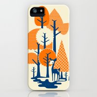 iPhone 5s & iPhone 5 Cases featuring Deer Forester by Budi Kwan
