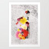 cecelia waits Art Print