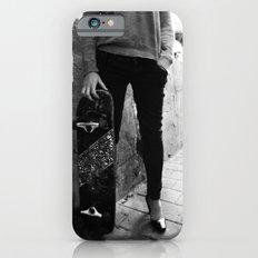 SkateBoard Girl iPhone 6 Slim Case