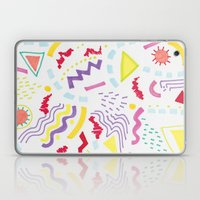Pastel Postmodern doodle Laptop & iPad Skin