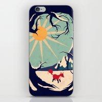 Fox Roaming Around II iPhone & iPod Skin