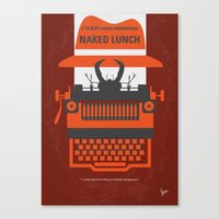 No534 My Naked Lunch Min… Canvas Print