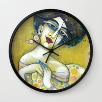THE MUSE OF MY 20'S Wall Clock